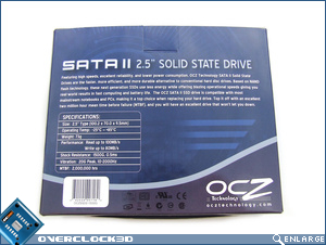 OCZ 32GB SSD Box Back