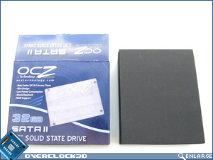 OCZ 32GB SSD Box Open