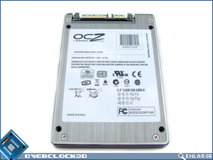 OCZ 32GB SSD Bottom