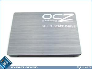 OCZ 32GB SSD Top