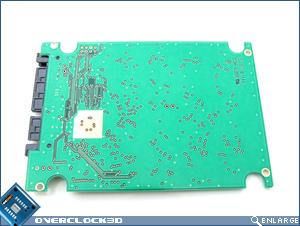 OCZ 32GB SSD Inside Back