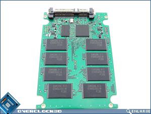 OCZ 32GB SSD Inside