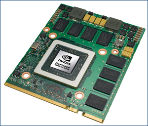 NVIDIA mobile GPUs