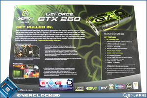 XFX GTX 260 XXX Edition Box back