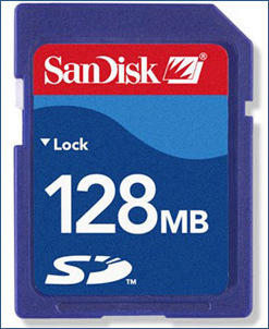 SanDisk WORM SD card