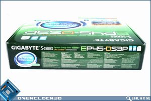 Gigabyte EP-45-DS3 Box Side