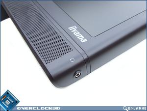 iiyama Prolite 2403WS Headphone