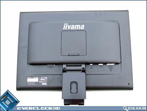 iiyama Prolite E2403WS Rear