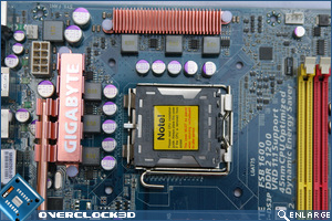 Gigabyte EP-45-DS3 CPU Socket