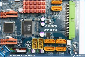 Gigabyte EP-45-DS3 SATA Ports