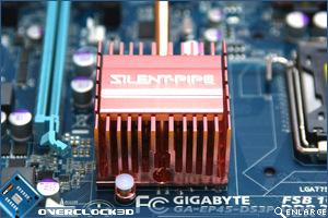 Gigabyte EP-45-DS3 Heatpipe