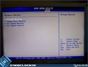 Power menu