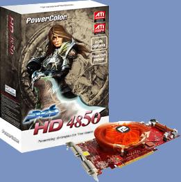 PowerColor HD4850 2GB PCS