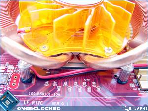 PowerColor HD4850 Heatpipes