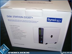 Synology DS207+ side