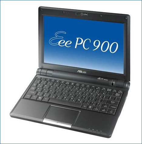 Asus Eee PC 900 16G with Orange airtime