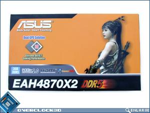 ASUS EAH4870X2 Box Front