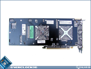 ASUS EAH4870X2 Card Bottom