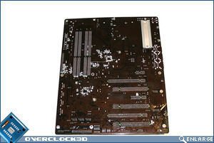 DFI X48-T3RS Motherboard back