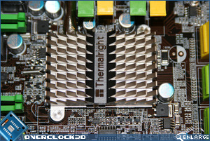 DFI X48-T3RS Southbridge Heatsink