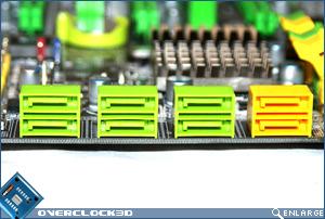 DFI X48-T3RS Sata Ports