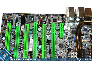 DFI X48-T3RS PCI area