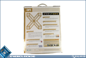 DFI X48-T3RS Box back