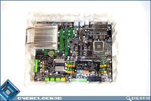 DFI X48-T3RS Bubble box
