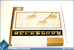 DFI X48-T3RS Accessory box