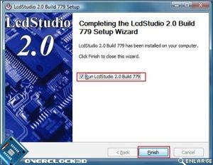 Matrix Orbital GX Typhoon  LCD Studio complete