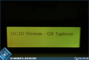 Matrix Orbital GX Typhoon Yellow