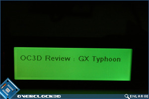 Matrix Orbital GX Typhoon Green