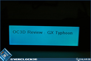 Matrix Orbital GX Typhoon Cyan