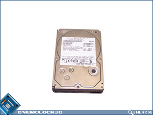Hitachi 1TB top view