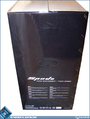 Thermaltake Spedo LHS of box
