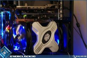 Cooler Master Z600 Installed