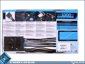 Corsair HX 1000W Box Back