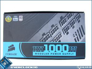 Corsair HX 1000W Box Front