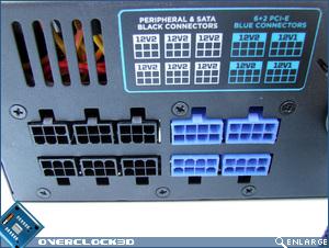 Corsair HX 1000W Modular Plugs