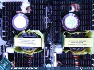 Corsair HX 1000W Dual Caps + Transformers