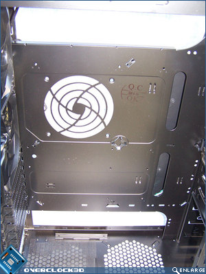 Non-removable motherboard tray