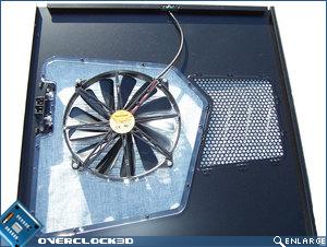 Panel 230mm fan