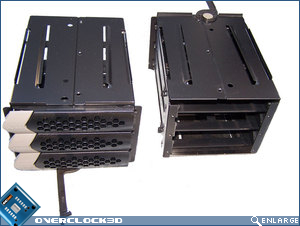 Thermaltake Spedo HDD caddy's