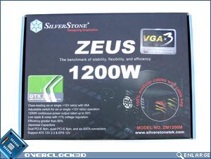 Silverstone Zeus 1200w Box front