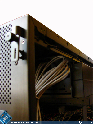 X2000 Side Panel Locking Mechanism