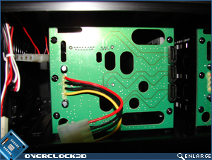 X2000 Rear of SATA Board