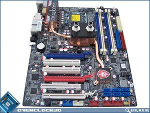 Foxconn BlackOps motherboard front