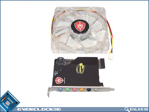 Fan and Sonar soundcard