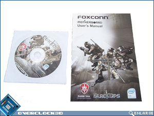 Installation CD and manual