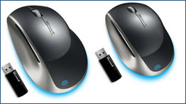 Microsoft Blue Track mice